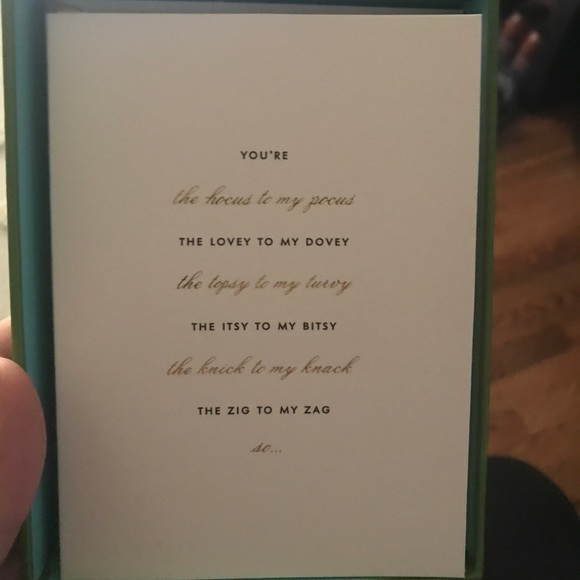 kate spade Other - Kate Spade 'Will you be my bridesmaid?' Card set